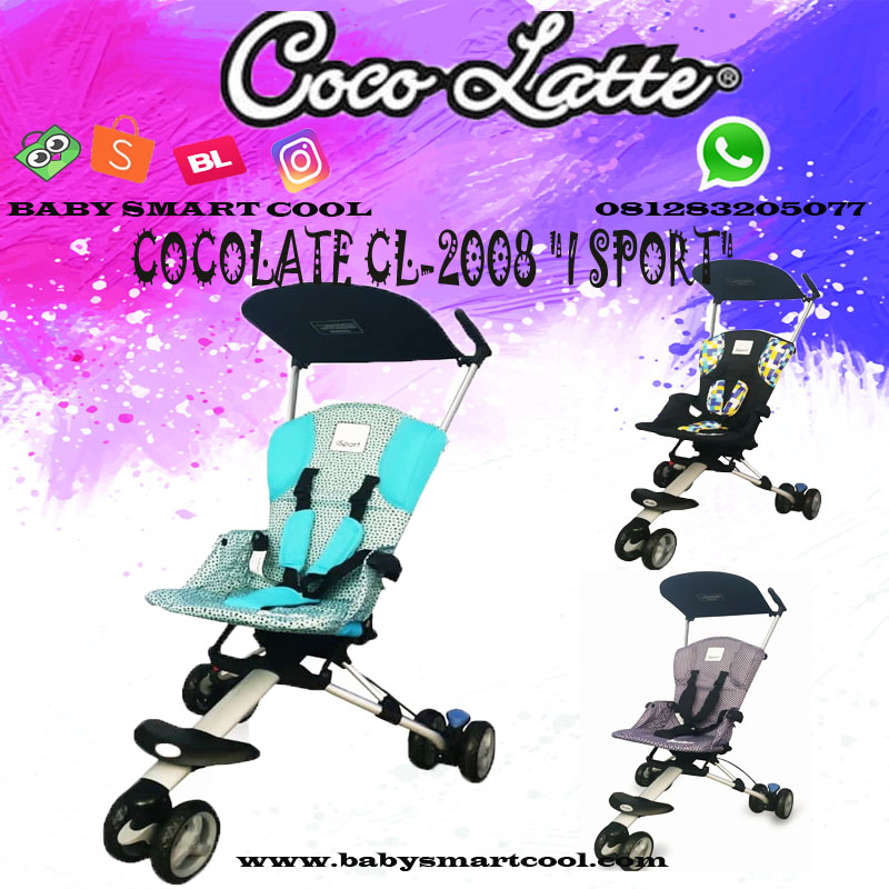 Car Seat Cocolate Cl 806 Baby Smart Cool